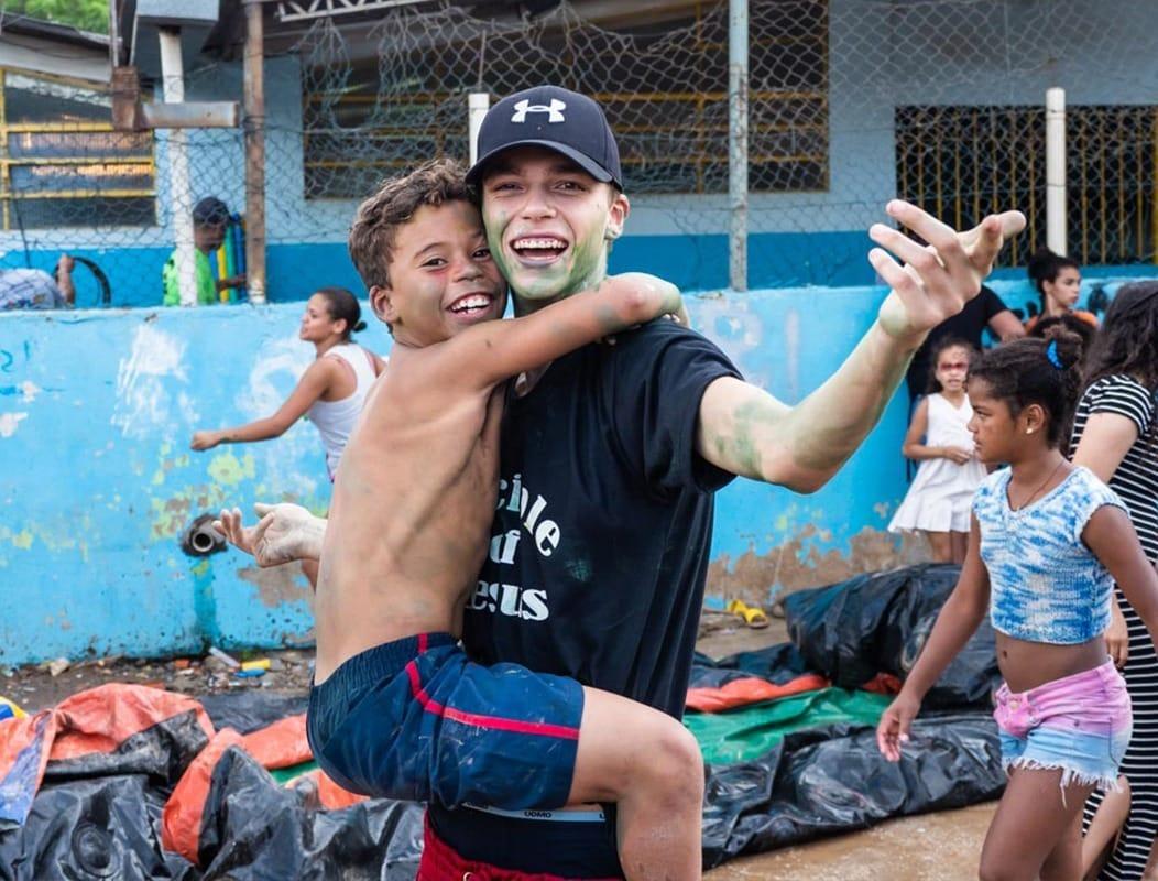 Eén van onze teamleden in Brazilië